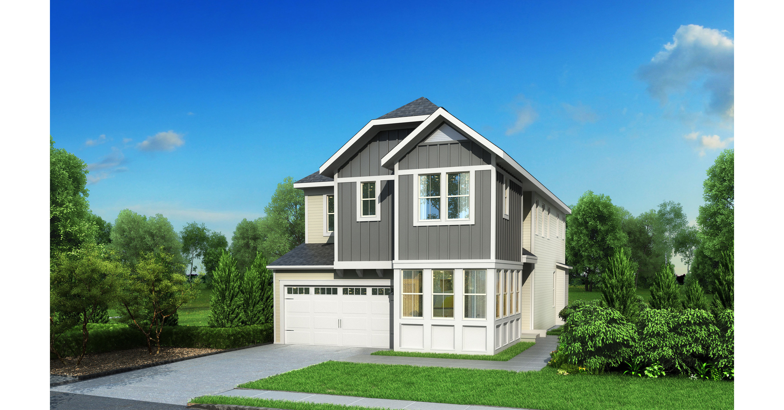 Winchester homes unveiling new model on oct 7 at grand for Modern model homes