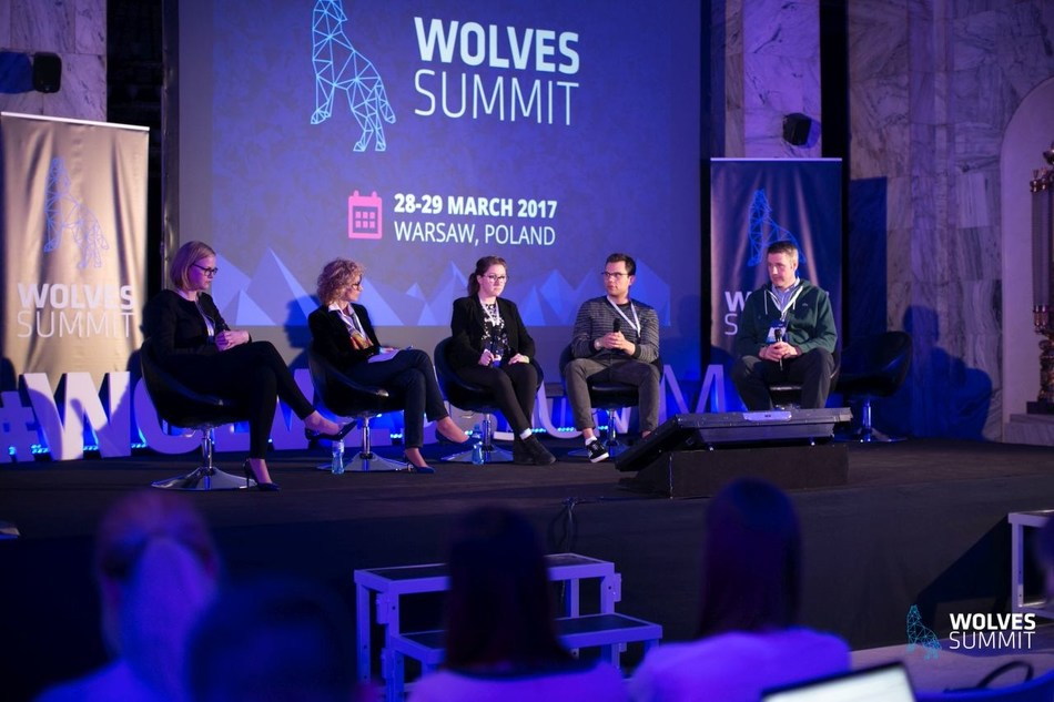 Panel Discussion at Wolves Summit (PRNewsfoto/Wolves Summit)