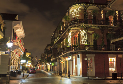 Save 15 percent on stays at Courtyard New Orleans French Quarter/Iberville with the Papa Noel Promotion. Travelers can delight in stylish furnishings, complimentary Wi-Fi and luxurious bedding in rooms and suites while getting into the holiday spirit. The hotel provides unbeatable access to events in New Orleans ranging from a Thanksgiving parade to the NOLA ChristmasFest. For information visit www.CourtyardNewOrleansIberville.com or call 1-504-523-2400.
