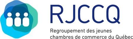 Logo : Regroupement des jeunes chambres de commerce du Québec (RJCCQ) (Groupe CNW/Ministère de l'Immigration, de la Diversité et de l'Inclusion)