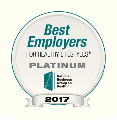 A seven-time winner of the Best Companies for Healthy Lifestyles award, this is the first time Paychex has been honored with a Platinum Award, which is given only to the top tier of all applicants, according to the National Business Group on Health.