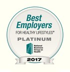 Paychex Named One of the Best Employers for Healthy Lifestyles®