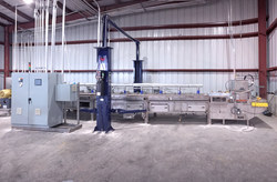 Gryphon's installed Model 0318 Dryer, designed for small municipal WWTP's.