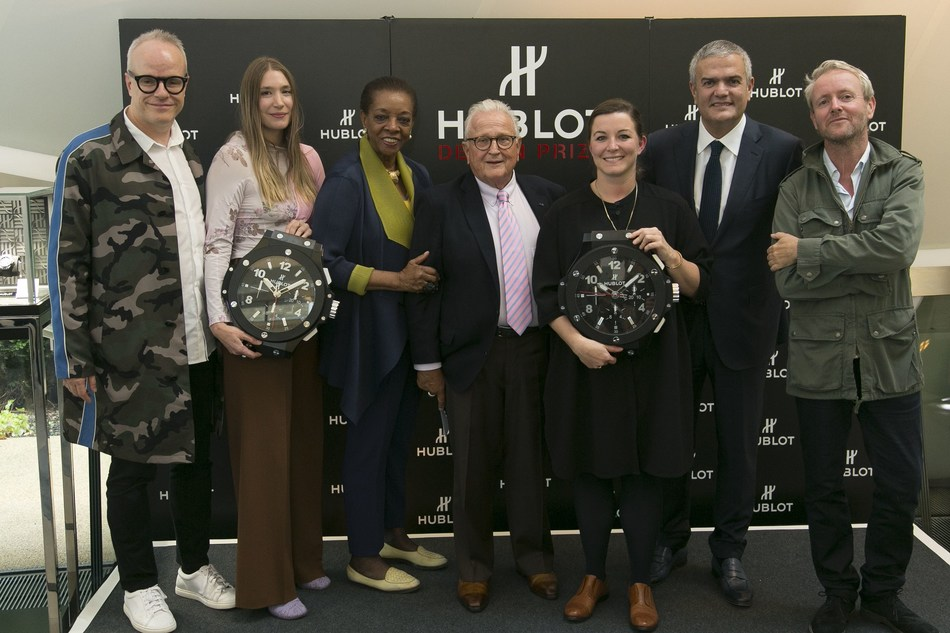 Jury, winners and Ricardo Guadalupe (PRNewsfoto/Hublot)
