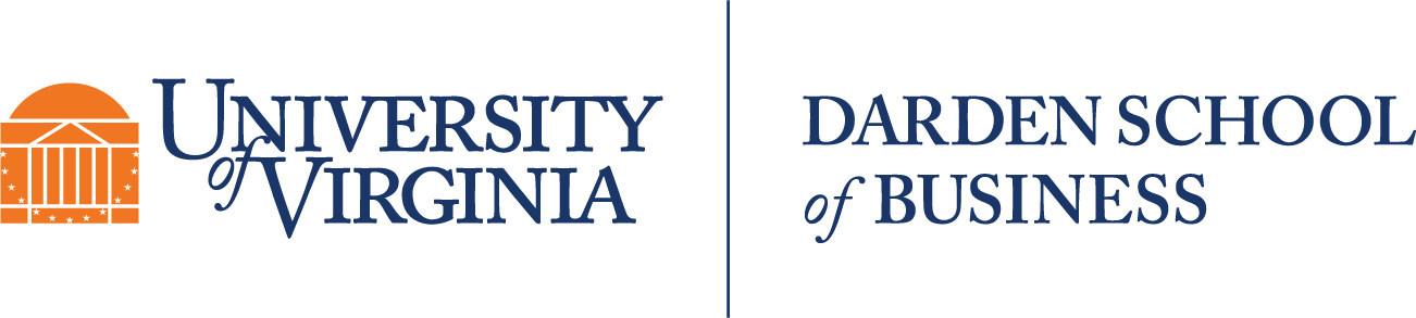 Darden School logo. (PRNewsfoto/University of Virginia Darden...)