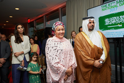 The Permanent Mission of the Kingdom of Saudi Arabia to the United Nations celebrated on September 27th Saudi Arabia's 87th National Day