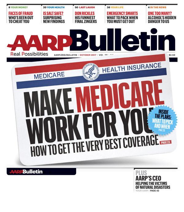 October AARP Bulletin Reveals How to Get the Best Medicare ...