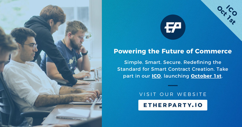 Etherparty Officially Opens Public Sale of FUEL Tokens Today (CNW Group/Etherparty)
