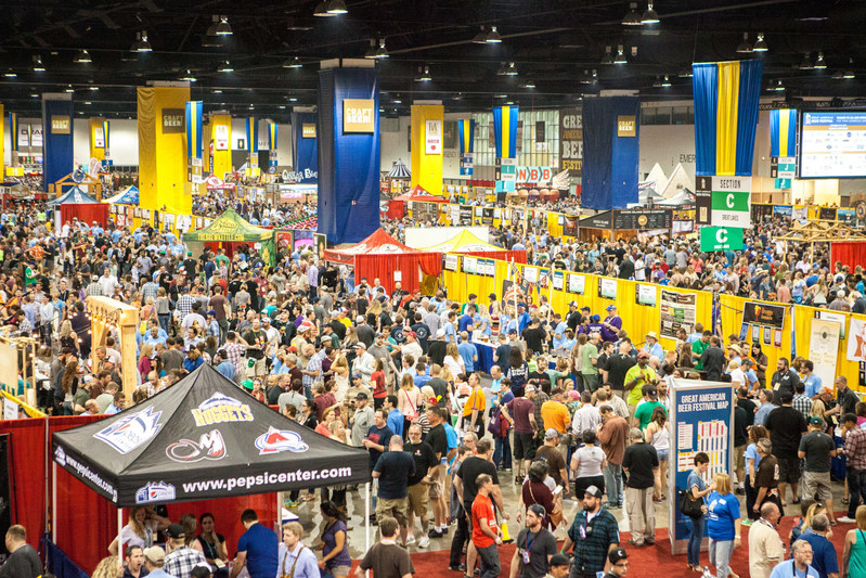 Denver Beer Fest kicked off today, featuring more than 260 beer-centric events leading up to the annual Great American Beer Festival (pictured). Photo © Brewers Association