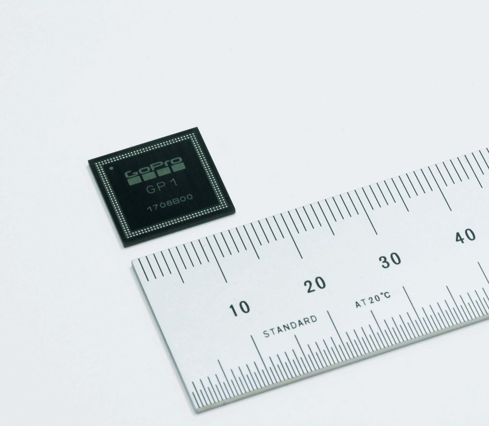 New image signal processor GP1 for HERO6. (PRNewsfoto/Socionext Inc.)