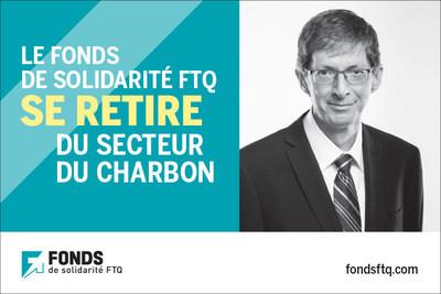 Gaétan Morin, président et chef de la direction, Fonds de solidarité FTQ (Groupe CNW/Fonds de solidarité FTQ)