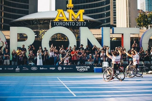 Record-breaking Invictus Games reaches new heights, inspiring wounded warriors with biggest Games yet (CNW Group/Invictus Games Toronto 2017)