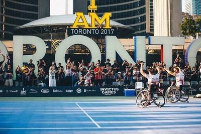 Des Jeux Invictus records atteignent de nouveaux sommets et inspirent les guerriers blessés par les plus imposants Jeux à ce jour (Groupe CNW/Invictus Games Toronto 2017)