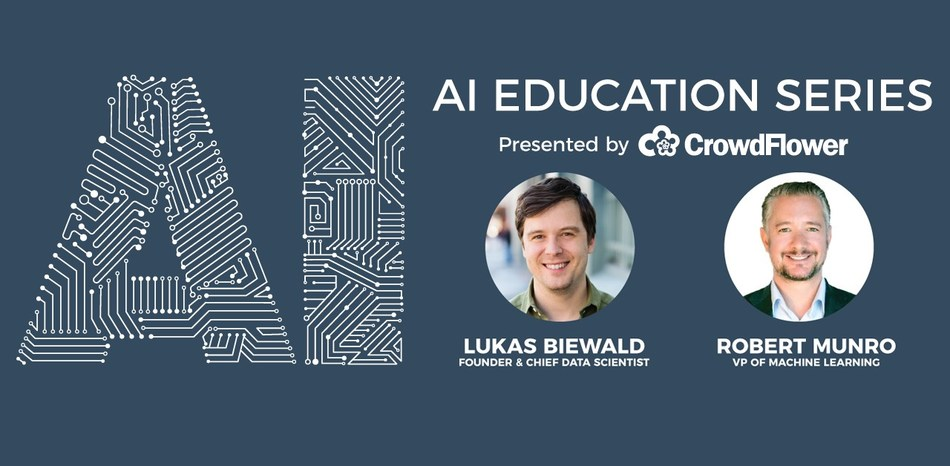 CrowdFlower presents a series of AI workshops created to help computer engineers learn the basics of machine learning platforms and build AI models for real world applications.