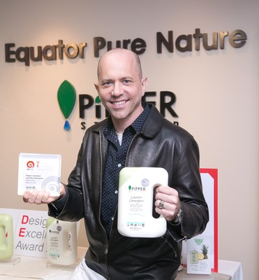 Mr. Peter Wainman, CEO of Equator Pure Nature Company Limited