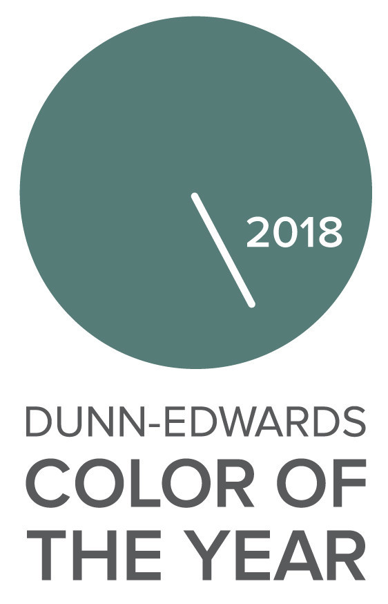 """Dunn-Edwards Names """"The Green Hour"""" Color of the Year for 2018"""
