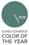 "Dunn-Edwards Names ""The Green Hour"" Color of the Year for 2018"