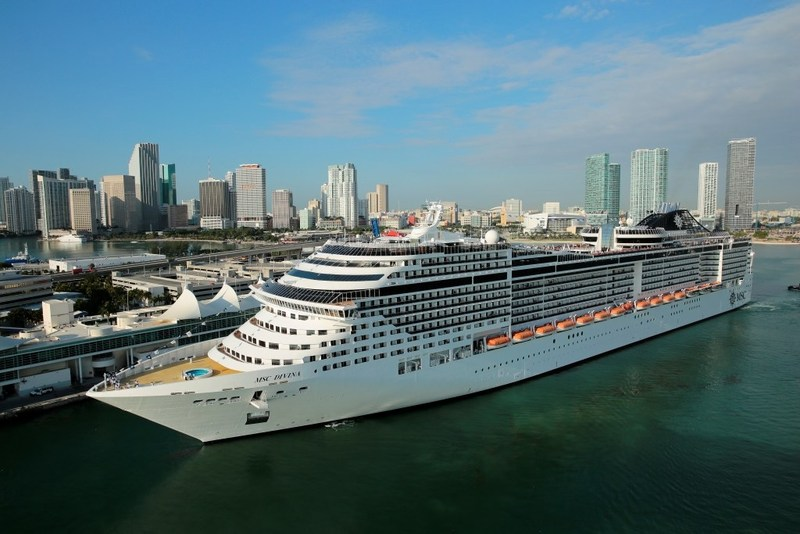 MSC Divina – one of MSC Cruises' most ultramodern cruise ships sailing from Miami to the Caribbean will be featured on the season finale of MIGHTY CRUISE SHIPS this Sunday, October 8 at 8:00 p.m. ET
