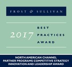 Frost & Sullivan recognizes Amazon Web Services, Inc. with the 2017 North American Competitive Strategy Innovation and Leadership Award. (PRNewsfoto/Frost & Sullivan)