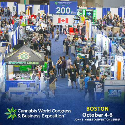 CWCBExpo Boston to Provide Education, Products, Services, and Opportunities for the Business of Cannabis.