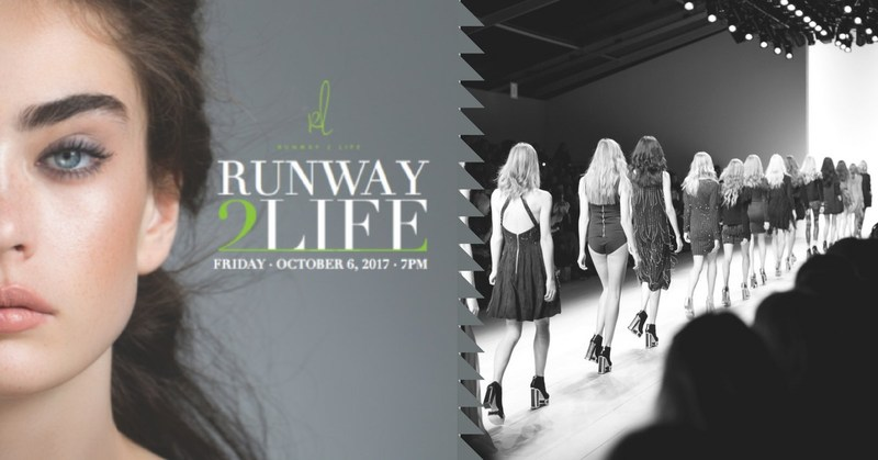 Attend the 2017 Annual Richmond 'Runway2Life' Fashion Show on October 6th at The Hilton Short Pump. You may purchase tickets at www.Runway2Life.com