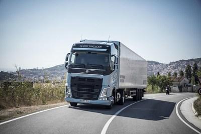 World premiere – Volvo Trucks is introducing heavy duty Euro 6 trucks running on liquefied natural gas or biogas (PRNewsfoto/Volvo Trucks)