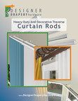 New Interior Design Book Simplifies Complex Custom Curtain Rod Treatments With Stunning Visuals and Concise Guidance