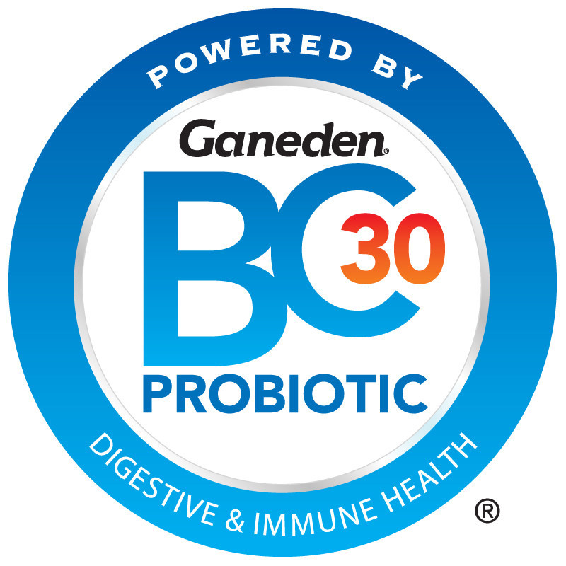 GanedenBC30 (Bacillus coagulans GBI-30, 6086) is Ganeden's patented probiotic ingredient that can be found in more than 750 leading food, beverage, sports nutrition and companion animal products around the world. Unlike most other probiotic strains, GanedenBC30 is highly stable and remains viable through most manufacturing processes, three years of shelf life and the low pH of stomach acid. For more information, visit GanedenBC30.com