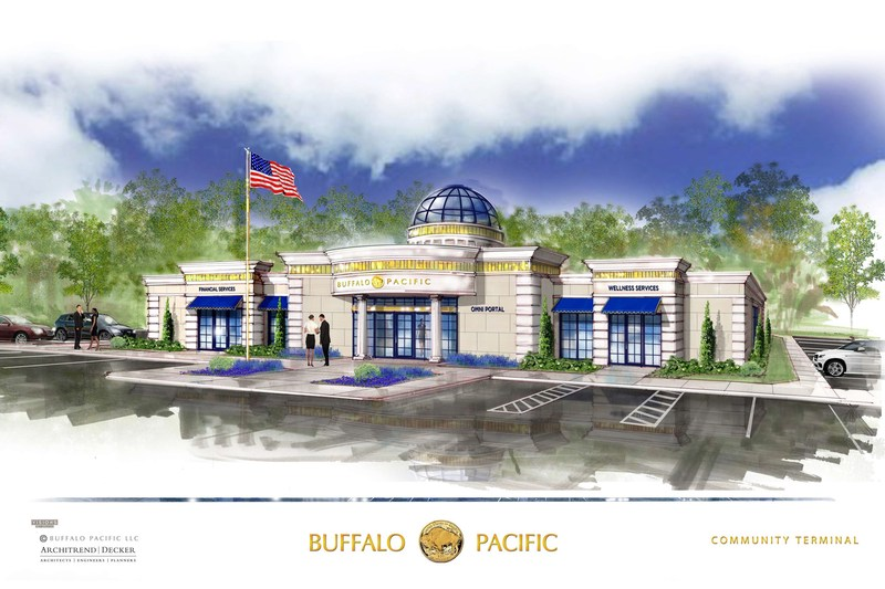 Buffalo Pacific proudly showcases the Community Portal™.  A unique combination of financial services, health/wellness care, and educational delivery. By deploying our Omni-Series™ technology we bring together specialized experts to meet customer, patient and student demand.   With plans to deploy 10,000 locations within 10 years starting with the 1st Portal coming online in 2017, BP will energize communities around the country and bring a truly unique and recognizable resource to the to the citi