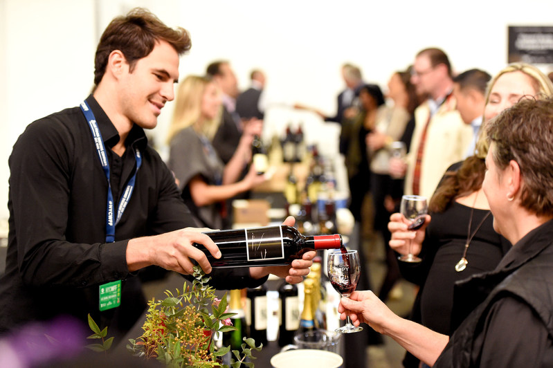 NEW YORK, NY - OCTOBER 14: Guests attend Southern Glazer's Wine & Spirits Trade Day presented by Beverage Media at Pier 94 during the Food Network & Cooking Channel New York City Wine & Food Festival presented by Coca-Cola on October 14, 2016 in New York City. (Photo by Nicholas Hunt/Getty Images for NYCWFF)