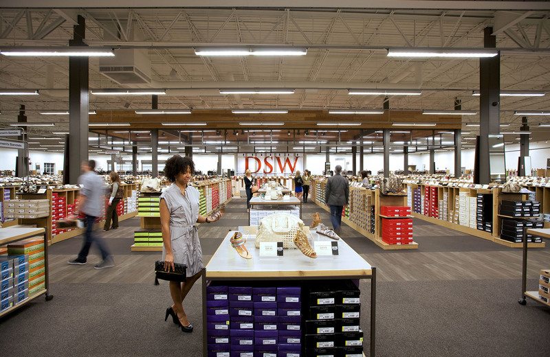 Breathtaking assortment, incredible value and simple convenience. Shop DSW for everyday deals in footwear and accessories. (PRNewsFoto/DSW Inc.)