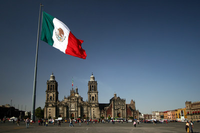 WestJet ajoute la ville de Mexico qu'elle desservira tout au long de l'année dès mars 2018, en partance de Calgary et de Vancouver. (Groupe CNW/WestJet)