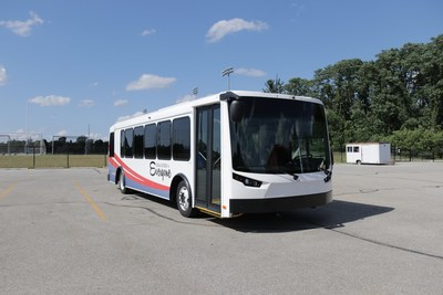 Dealer Partnership includes new Spirit of Equess bus on exhibit at the American Public Transportation Association Expo (APTA)