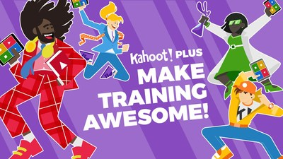 Kahoot! Plus for teams and companies makes corporate training fun and engaging