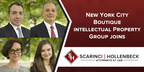 NYC Intellectual Property Attorneys Add Significant Depth