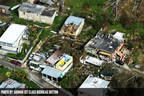 The largest federal employee union, the American Federation of Government Employees, is calling on President Trump and members of Congress to expedite the pace of recovery efforts for the 3.5 million American citizens in Puerto Rico and the U.S. Virgin Islands who are struggling in the aftermath of Hurricane Maria. Above is an aerial photo of northern Puerto Rico taken on Sept. 26 by the U.S. Air Force's Civil Air Patrol, in cooperation with the Air National Guard.