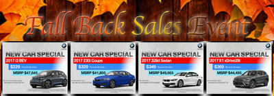 Pacific BMW in Glendale is currently running their Fall Back Sales Event, with price reductions and lease specials on many of their new BMW models.