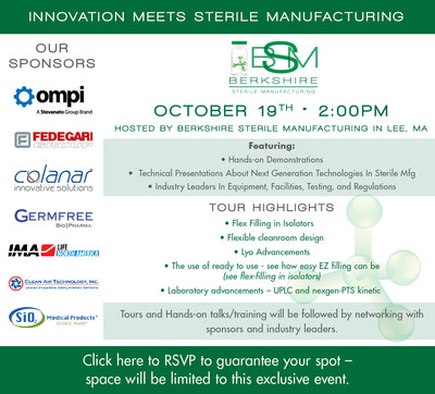 """Innovation Meets Sterile Manufacturing"""