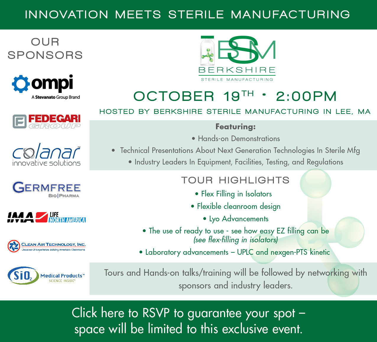 """""""Innovation Meets Sterile Manufacturing"""""""