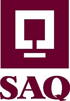 Logo : Société des alcools du Québec (SAQ) (Groupe CNW/Société des alcools du Québec - SAQ)