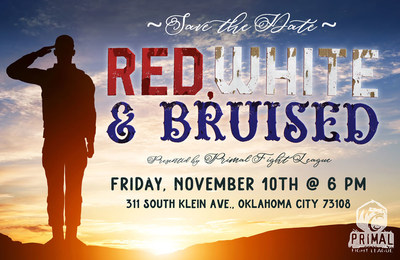 Red, White & Bruised, presented by Primal Fight League on November 10, 2017.