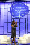 Former First Lady Michelle Obama Encourages Women to Use their Voices, Advocate for Others