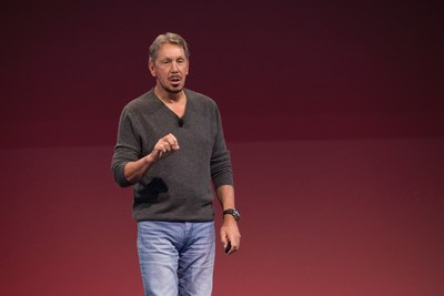 Larry Ellison, Executive Chairman & CTO, Oracle
