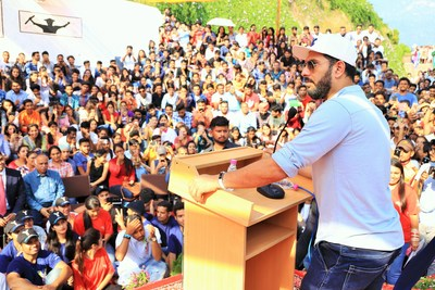 Yuvraj Singh Launches YouWeCan Foundation in Collaboration With Students of Shoolini University