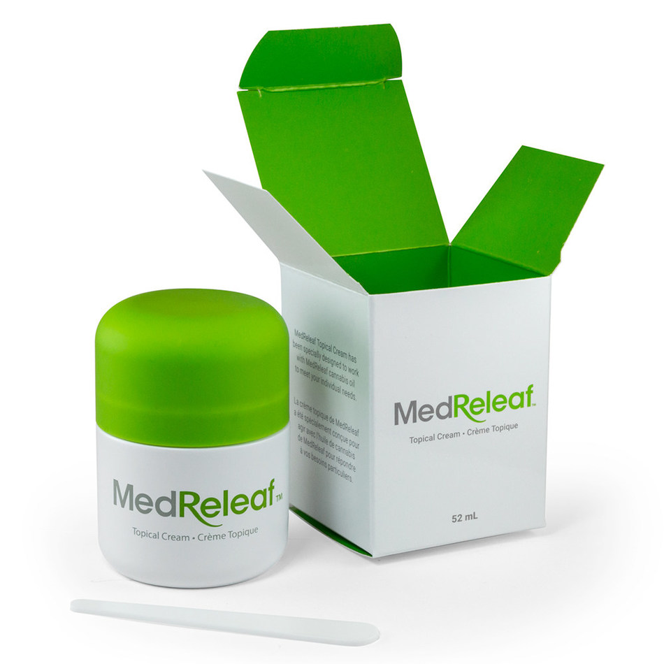 MedReleaf launches topical cannabis cream (CNW Group/MedReleaf Corp.)