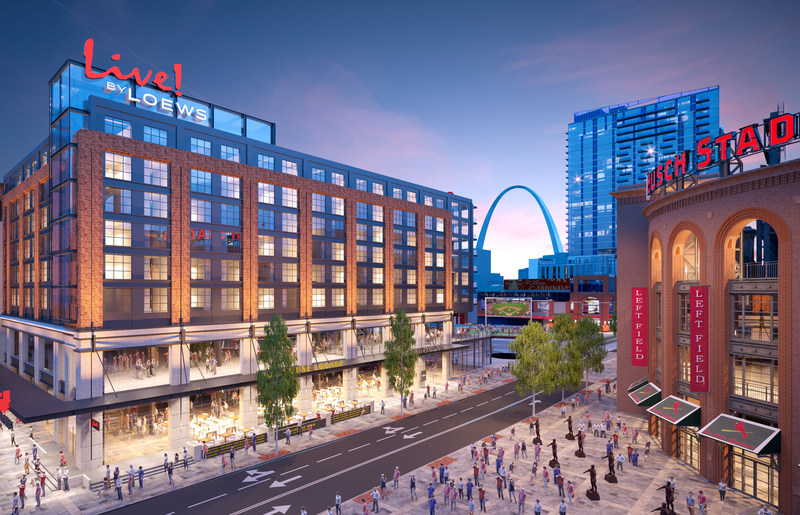 Hotels By Ballpark Village St Louis Mo