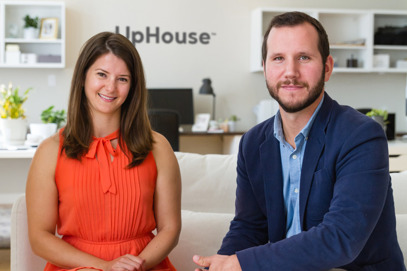 Kiirsten May (left) and Alex Varricchio (right), co-owners of UpHouse Inc., a marketing agency in Winnipeg, Manitoba, Canada. UpHouse elevates in-house marketing teams and the brands they promote. (CNW Group/UpHouse Inc.)