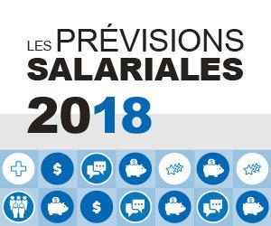 Ce sont 2,5 % d''augmentation salariale que prévoient donner les organisations québécoises et canadiennes l''année prochaine, selon les Prévisions salariales 2018 de l''Ordre des conseillers en ressources humaines agréés. (Groupe CNW/Ordre des conseillers en ressources humaines agréés)
