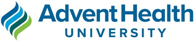 AdventHealth University Logo (PRNewsfoto/ADU)
