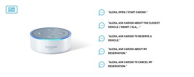 car2go adds new Amazon Alexa skill to make finding, reserving a car2go vehicle easier than ever